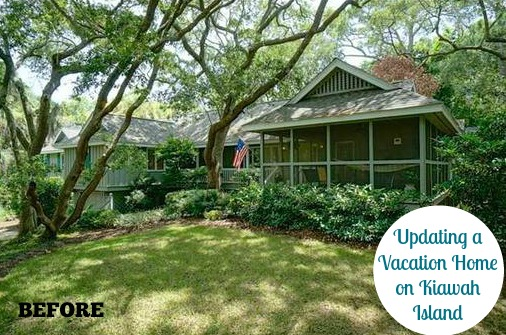 Kiawah Island South Carolina Vacation Home Rental Makeover | hookedonhouses.net