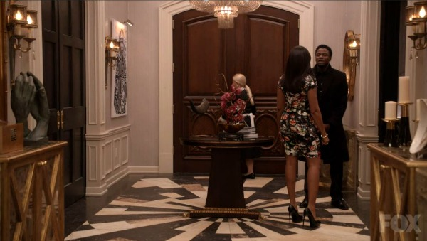 Foyer of Lucious Lyon's Mansion on Empire