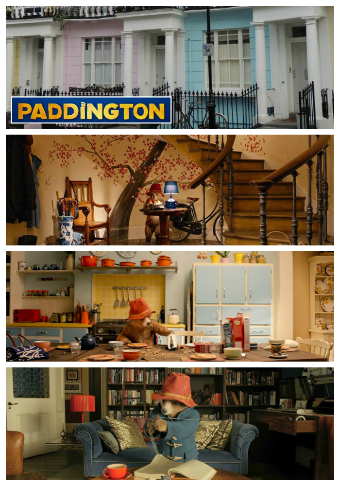 A look at the sets created for the movie Paddington