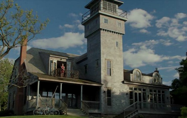 "The tower, which was originally built as a coast guard station, is 5 stories high: ""The fourth floor of the Tower has an optional 7th bedroom. Climb up the ladder from the third floor where you have a desk and work place and crawl into a cozy bed where you are greeted with panoramic views."""