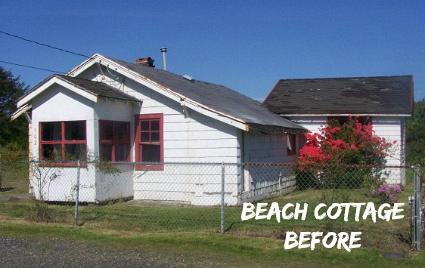 Coastal Nest Beach Cottage BEFORE