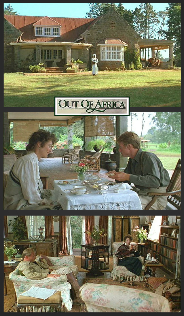 "Karen Blixen's Farmhouse from the Movie ""Out of Africa"""