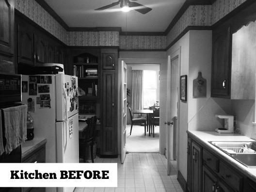 Little Rock Kitchen BEFORE Makeover by Designer Kathryn LeMaster
