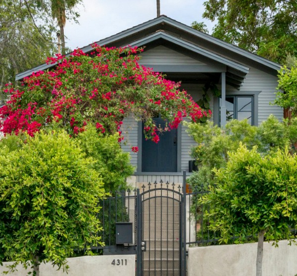 A Little Blue Bungalow For Sale In Los Feliz California