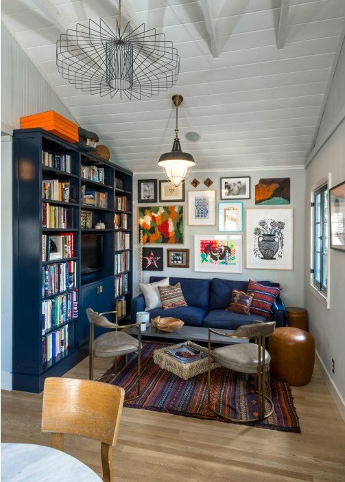 Little Blue Bungalow For Sale in Los Feliz | hookedonhouses.net