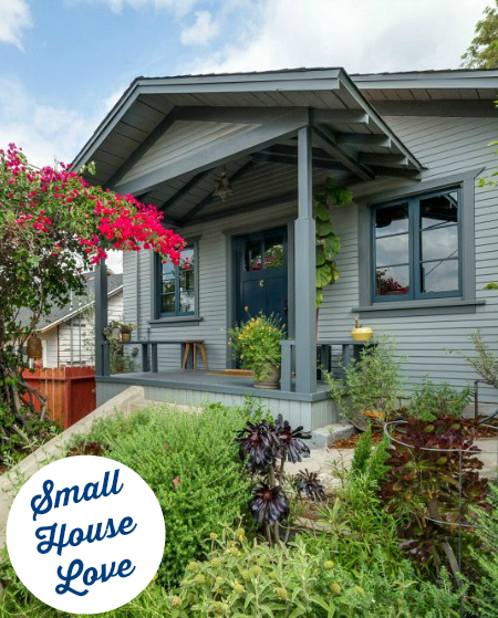 Bungalow In Love: A Little Blue Bungalow For Sale In Los Feliz California