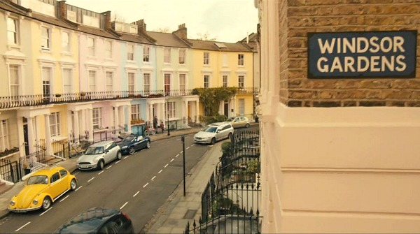 The charming townhouse in Windsor Gardens from the movie Paddington | hookedonhouses.net