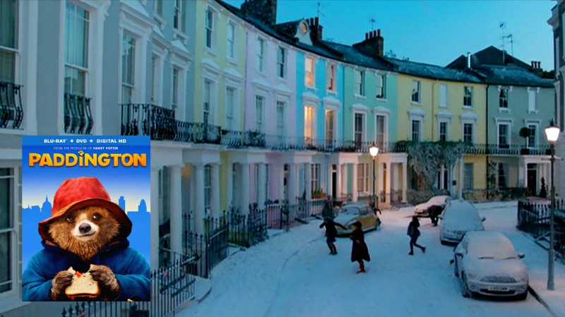 Paddington movie sets filming locations