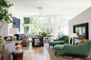Patrick and Jillian Dempsey's Malibu Home Architectural Digest