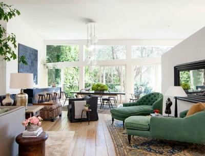 Patrick and Jillian Dempsey's Malibu Home Architectural Digest