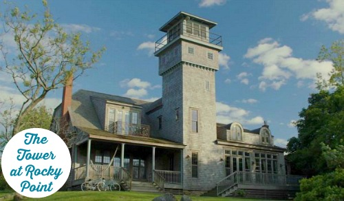 """The Tower at Rocky Point: A Beach House Featured on the HBO show """"Girls"""""""