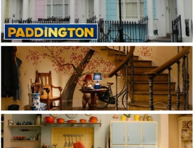 "Inside the Colorful House from the ""Paddington"" Movie"