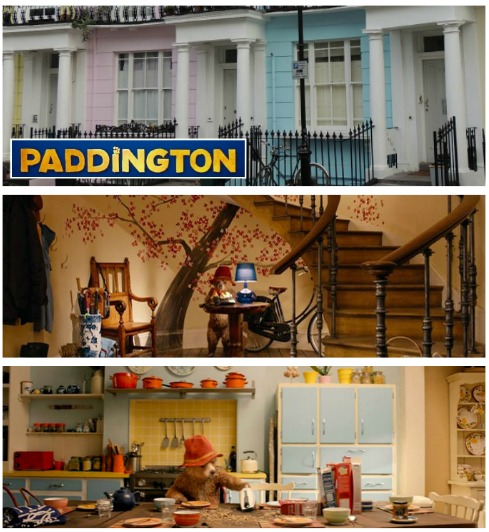 The colorful house from the movie Paddington | hookedonhouses.net