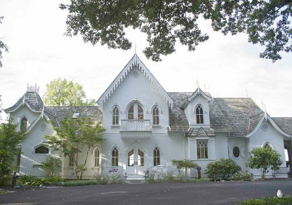 Outstanding A New American Gothic Revival Style Home Inspirational Interior Design Netriciaus