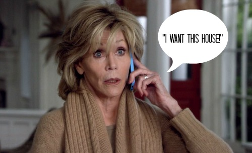 "Jane Fonda on ""Grace and Frankie"""