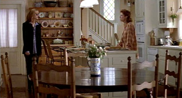 "Julia Roberts and Susan Sarandon in Jackie's kitchen in the movie ""Stepmom"""