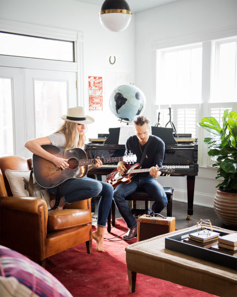 Holly Williams and Chris Coleman's Cottage in Nashville