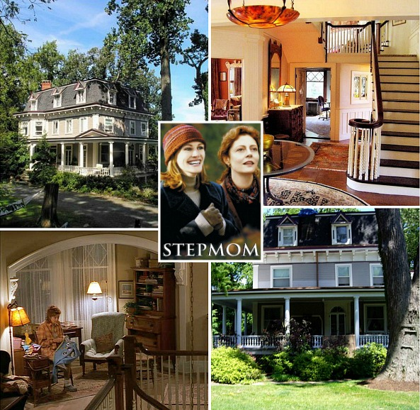 "A look inside the real house where the Susan Sarandon-Julia Roberts movie ""Stepmom"" was filmed in Nyack 