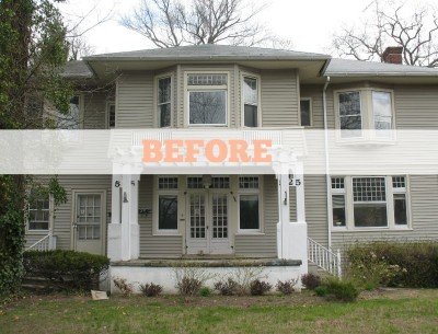 Renovating an American Foursquare in Allenhurst