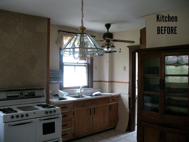 Allenhurst American Foursquare Kitchen BEFORE Remodel
