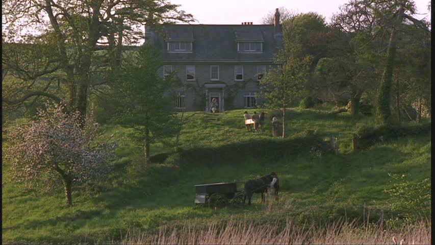"Barton Cottage in the movie ""Sense and Sensibility"""