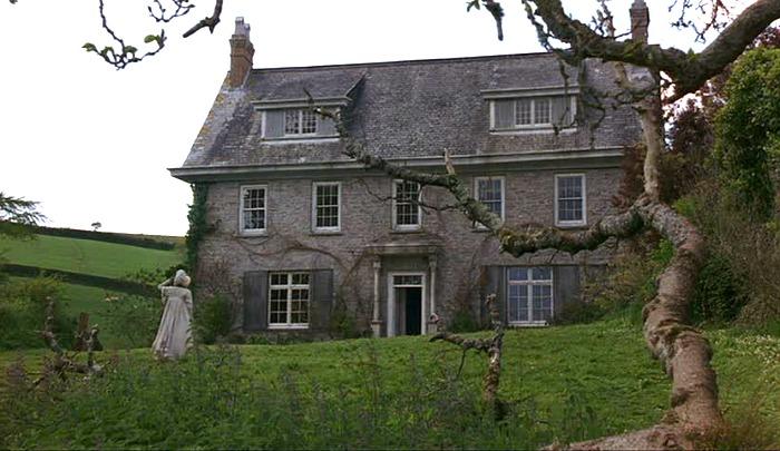 "Barton Cottage in the movie \""Sense and Sensibility\"""