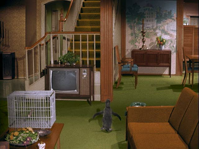 Bewitched TV House Staircase Season One Part 81