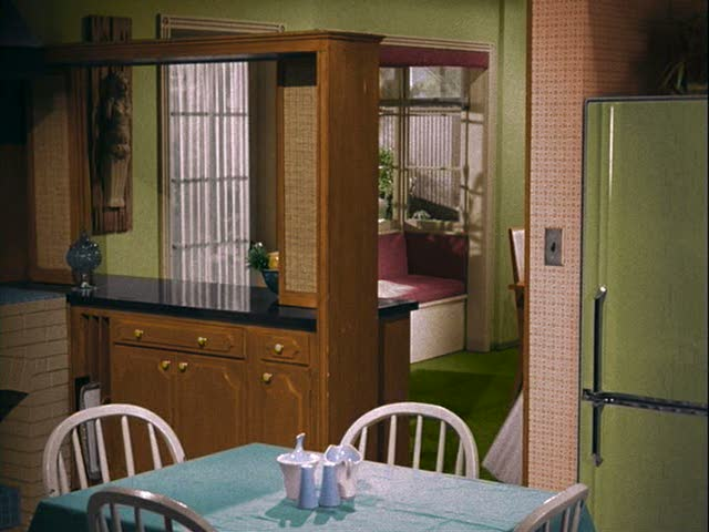Bewitched TV show kitchen Avocado fridge