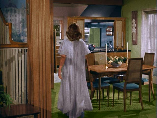 Bewitched TV sitcom house sets dining room