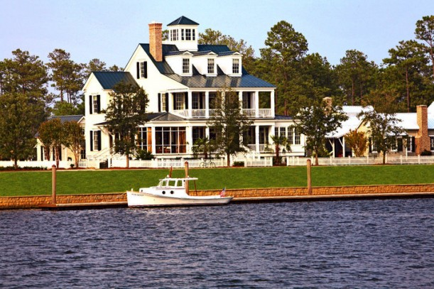 Coastal Living Idea House seen from the water