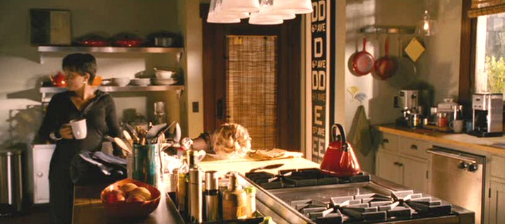 """Monster-in-Law"" movie Craftsman kitchen"