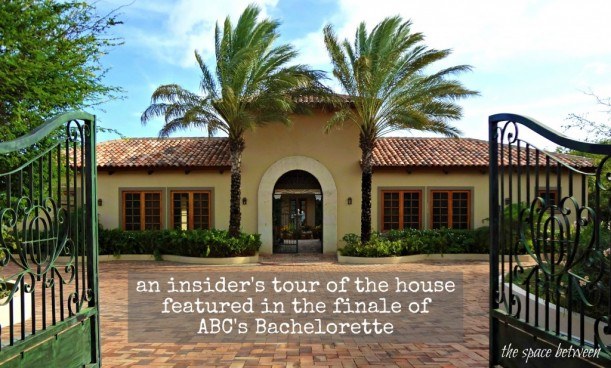 front exterior of house used in finale of The Bachelorette in 2015