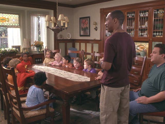 """""""Daddy Day Care"""" dining room"""