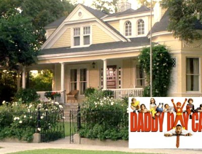 "Eddie Murphy's Yellow House in ""Daddy Day Care"""