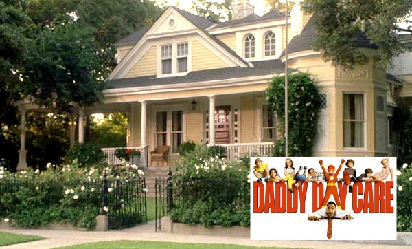 """Daddy Day Care"" movie Eddie Murphy's yellow house 