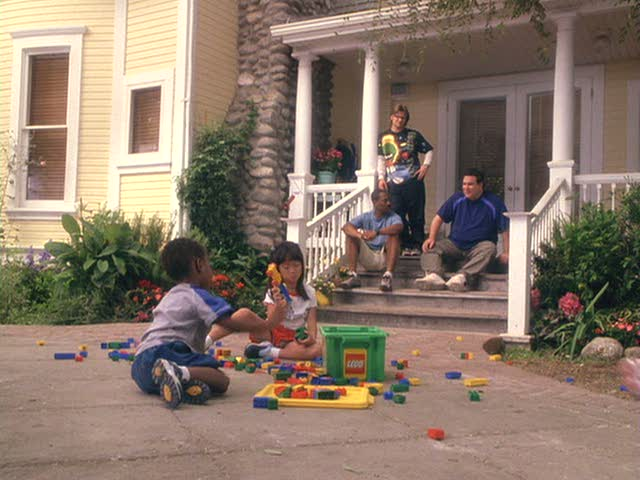 """Daddy Day Care"" movie house"