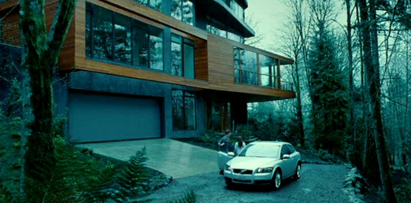 Edward Cullen's house in movie Twilight