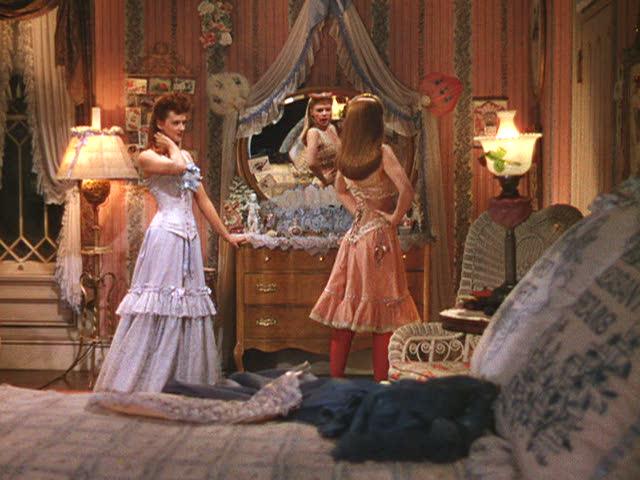 """""""Meet Me in St. Louis"""" movie house bedroom"""