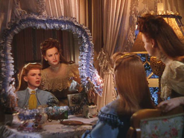 """""""Meet Me in St. Louis"""" movie house bedroom vanity scene"""