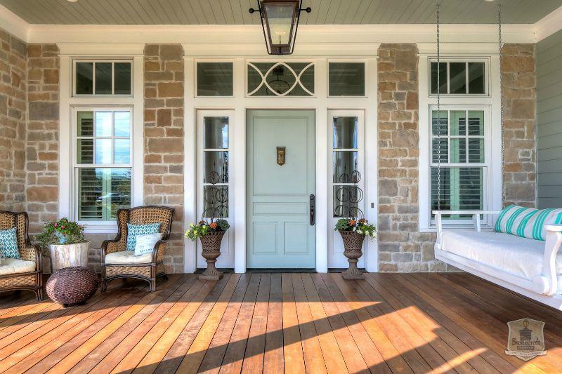 Greystone Country House Kentucky Stonecroft Homes