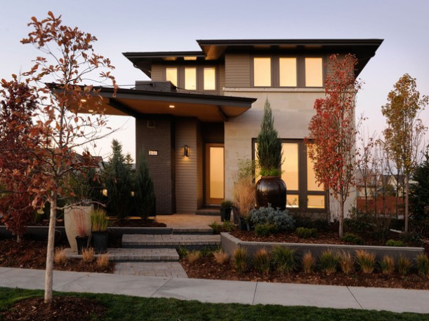front exterior of HGTV's Green Home 2011