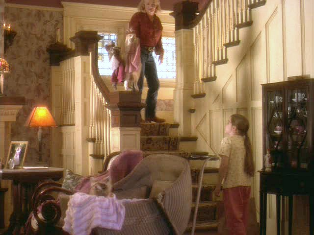 """Hope Floats"" movie house staircase"