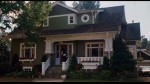 front exterior of bungalow with front porch from I Love You Beth Cooper movie