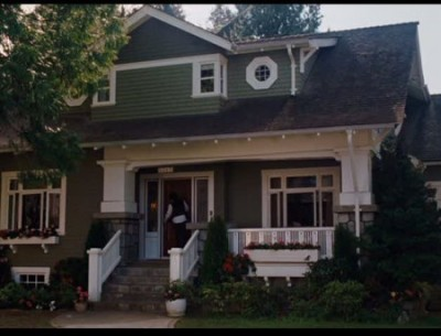 "The Craftsman Bungalow in ""I Love You, Beth Cooper"""