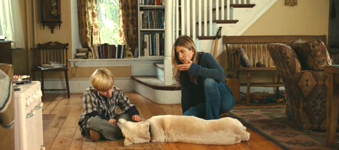 "Jennifer Aniston in ""Marley and Me"" movie"