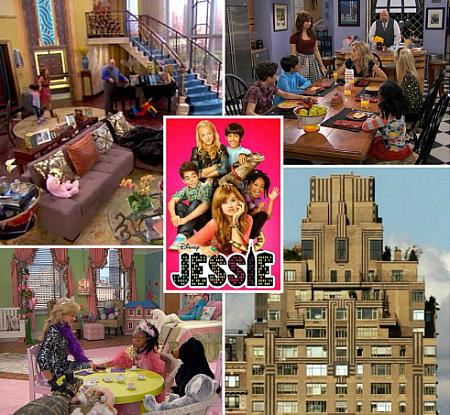 Jessie Disney Channel Show Penthouse