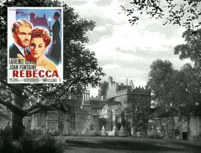 "Manderley mansion in the classic film ""Rebecca"" 