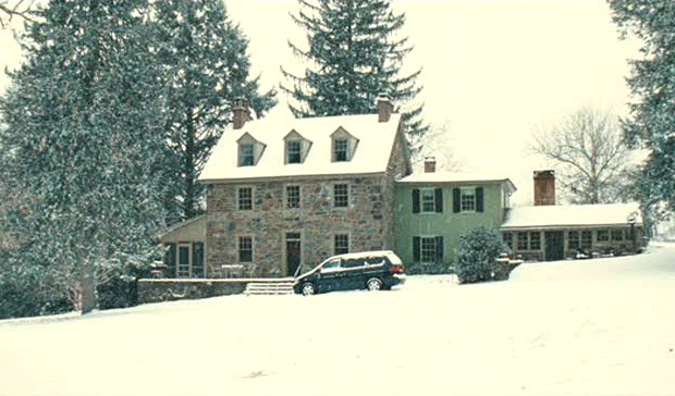 "The old stone farmhouse where ""Marley and Me"" movie was filmed in Pennsylvania"
