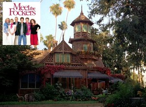 "Victorian house from ""Meet the Fockers"" movie 