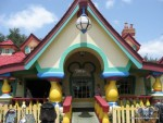 front exterior of Mickey Mouse's house at Disney World
